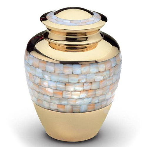 Brass cremation ashes urns