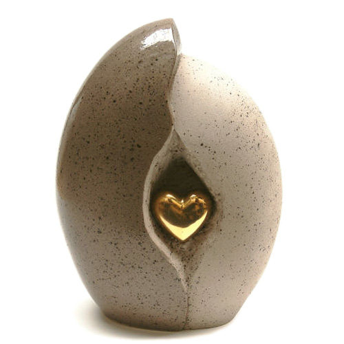 Ceramic cremation ashes urns