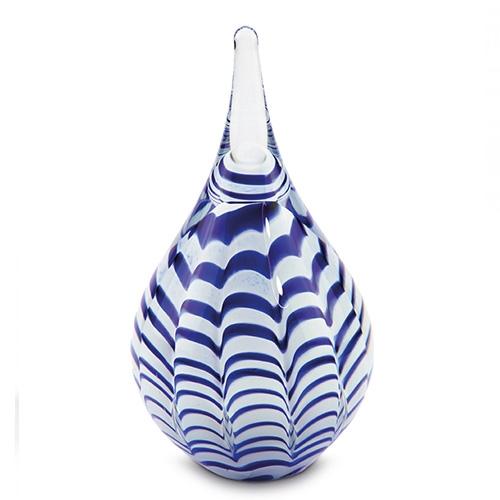 Glass keepsake urns