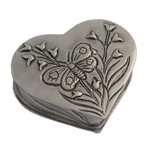 Pewter keepsake cremation urns