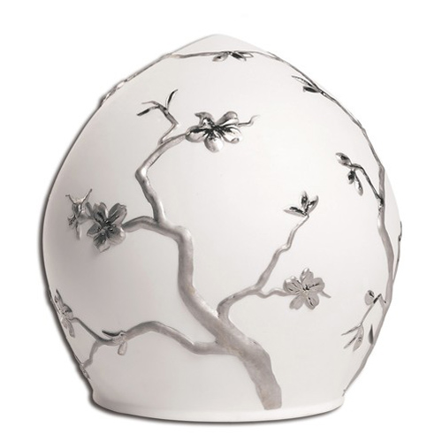 Porcelain ashes urns