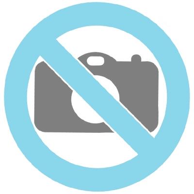 Bohemian Crystal glass keepsake urn